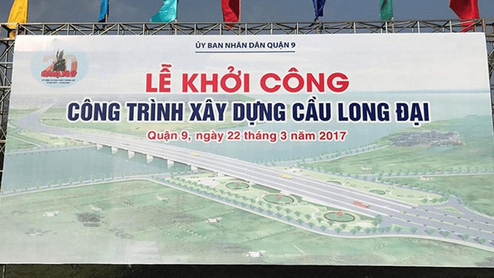 Công trình xây dựng cầu Long Đại